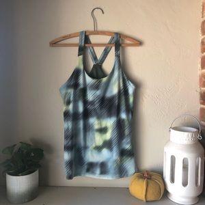 Athleta Printed Fitness Tank